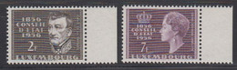 Luxemburg 1956 100 Jahre Staatsrat 2v ** Mnh (50114E) - Unused Stamps