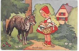 Little Red Riding Hood And The Wolf, Rotkäppchen Und Der Wolf, Le Petit Chaperon Rouge Et Le Loup - Vertellingen, Fabels & Legenden