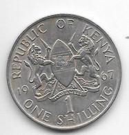 *kenya 1 Shilling 1967  Km 5  Xf+/ms60 - Kenya