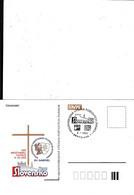 Slovakia, Timbres Occasionnels Medzin. Výstava Pošt. Známok Bratislava 2002, Krestanská Filatelia - Postal Stationery
