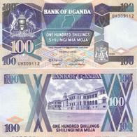 UGANDA 100 Shillings 1988 P 31b UNC - Oeganda