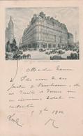 London 1902 -The Hotel Metropole  - Scan Recto- Verso - Otros