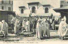 Algérie - Alger - Petit Marché Arabe - Place Randon - Animée - Carte Neuve - CPA - Voir Scans Recto-Verso - Alger