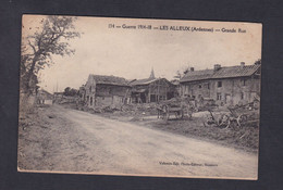 Les Alleux (Ardennes 08) Grande Rue ( Ed. Valentin Fils 43399) - France