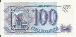RUSSIE 100 RUBLES 1993 UNC P 254 - Rusland