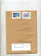 Lettre Flamme Neopost 24984A Double Sur Timbre à Moi Philapostel - Poststempel (Briefe)