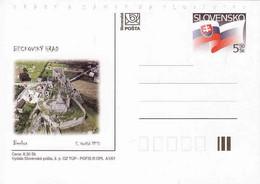 Slovakia Correspondence Card Beckov Schloss - Castle - Postal Stationery