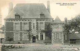 76 - Yvetot - Manoir Du Fay - Poules - CPA - Voir Scans Recto-Verso - Yvetot