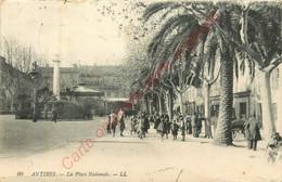 06.  ANTIBES .  La Place Nationale . - Autres