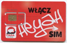 GSM Sim Card, Heyah - Polen