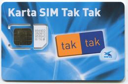 GSM Sim Card, Tak Tak - Polen