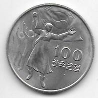 *south Korea 100 Won 1975  Km 21   Unc - Korea, South