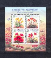 KAZAKHSTAN - MNH - FLOWERS - MI.NO.BL 53 - CV = 5 € - Other