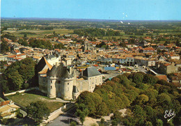 Frankreich 16 (Charente): Barbezieux, Le Château - Castelli