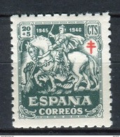 España 1945. Edifil 994 ** MNH. - 1931-50 Neufs