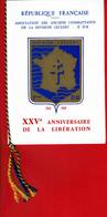 1969 - 25eme Anniv. De La Libération -livret Commémoratif émis Par Asso. Anciens Combattants Division Leclerc -tp N°1607 - Marcophilie (Lettres)