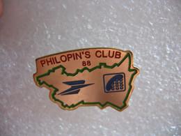 Pin's Du Philopin's Club Des Vosges Sponsorisé Par La Poste (Dépt 88) - Post