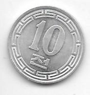 *north Korea 10 Chon 1959  Km 3   Unc/ms63 !! - Corea Del Nord