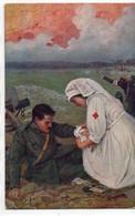 CROCE ROSSA - 13 - VIAGGIATA - Croce Rossa