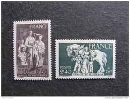 TB Paire N° 585 Et N° 586, Neufs XX. - Unused Stamps