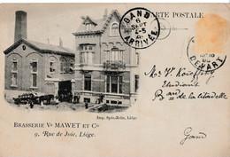 Brasserie Ve Mawet Et Cie - 9, Rue De Joie, Liège - Liège