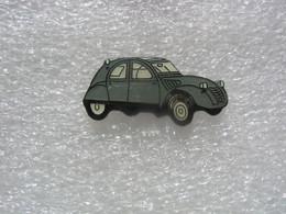 Pin's 2CV Citroen De Couleur Grise - Citroën