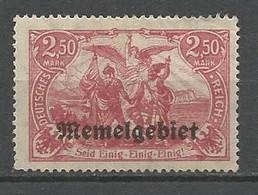 MEMEL  N° 17  NEUF*  CHARNIERE /  MH - Unused Stamps