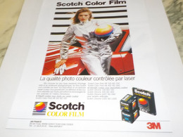 ANCIENNE PUBLICITE SCOTCH COLOR FILM 1988 - Fotografía