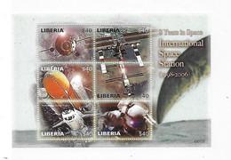 Liberia 2006 Apollo XI And Space Kennedy 2 Sheet MNH 2 Scans - Liberia