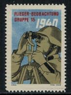 Suisse /Schweiz/Switzerland // Vignette Militaire // Flieger-Beobachter,Fl.Beob.Gr.15 - Poste Militaire