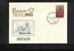 Israel 1988 Jerusalem Christmas - Israel
