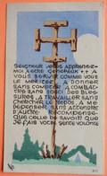 IMAGE SCOUTISME - SEIGNEUR JESUS APPRENEZ-MOI A ETRE GENEREUX... - SCOUT - SCAN RECTO/VERSO - Andachtsbilder