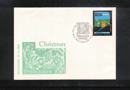 Israel 1990 Betlehem Christmas - Briefe U. Dokumente