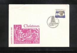 Israel 1990 Nazareth Christmas - Briefe U. Dokumente