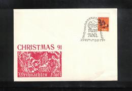 Israel 1991 Nazareth Christmas - Briefe U. Dokumente