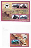 Liberia 2004 Steam Locomotive Train Trains S/S And Sheet MNH - Liberia