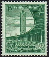 DR 1938, MiNr 666, Postfrisch - Unused Stamps