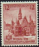 DR 1938, MiNr 667, Postfrisch - Unused Stamps