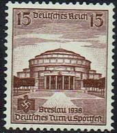 DR 1938, MiNr 668, Postfrisch - Unused Stamps