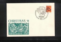 Israel 1991 Betlehem Christmas - Briefe U. Dokumente