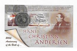 Liberia 2005 200th Anniversary Of Hans Christian Anderson Sheet MNH - Liberia