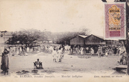 Bamako - Soudan Français - Marché Indigène - Malí