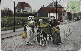 : La Laitière Et L'Attelage De Chiens En Route Pour La Ville ( 1919 ) - Mercanti