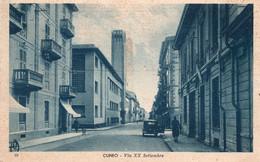 CUNEO - VIA XX SETTEMBRE - VIAGGIATA - Cuneo