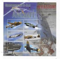 Liberia 2004 D-Day Aircraft Aviation Sheet Airplane MNH - Liberia