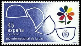 AÑO INTERNAC. PAZ - AÑO 1986 - Nº EDIFIL 2844 - 1931-Aujourd'hui: II. République - ....Juan Carlos I