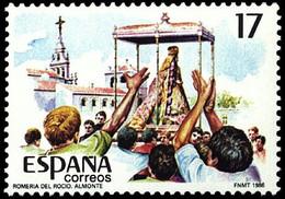 FIESTAS POPULARES - AÑO 1986 - Nº EDIFIL 2842 - 1931-Aujourd'hui: II. République - ....Juan Carlos I