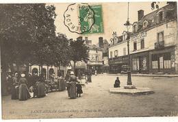 41 -   SAINT-AIGNAN - Place Du Marché Au Blé   7 - Saint Aignan