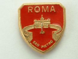 Pin's ROMA - SAN PIETRO - Cities