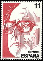 PERSONAJES - AÑO 1986 - Nº EDIFIL 2854 - 1931-Aujourd'hui: II. République - ....Juan Carlos I